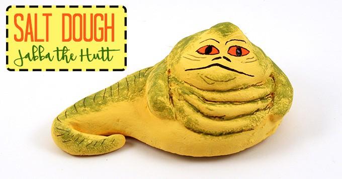 Jabba the Hutt craft: how to make Jabba the Hutt from salt dough