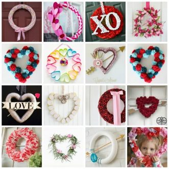 We've put together a collection of the most adorable wreaths giving tons or inspiration for creative minds all around.