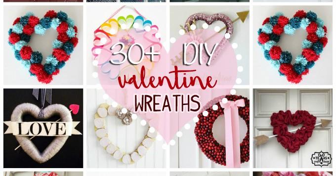 Valentine Wreaths To Make 30 Diy Wreath Crafts For Valentine S Day