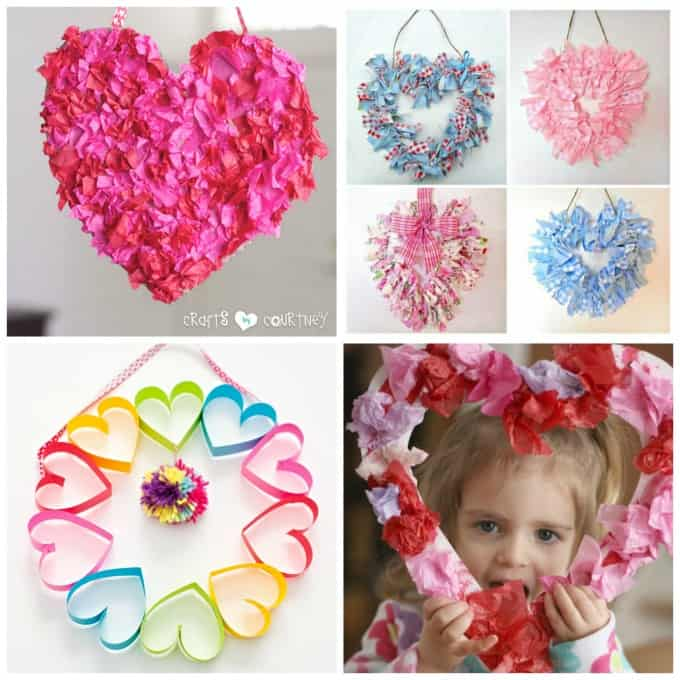 These range from kid-friendly wreaths, wreaths you can give as a gift, and adult level crafted wreaths