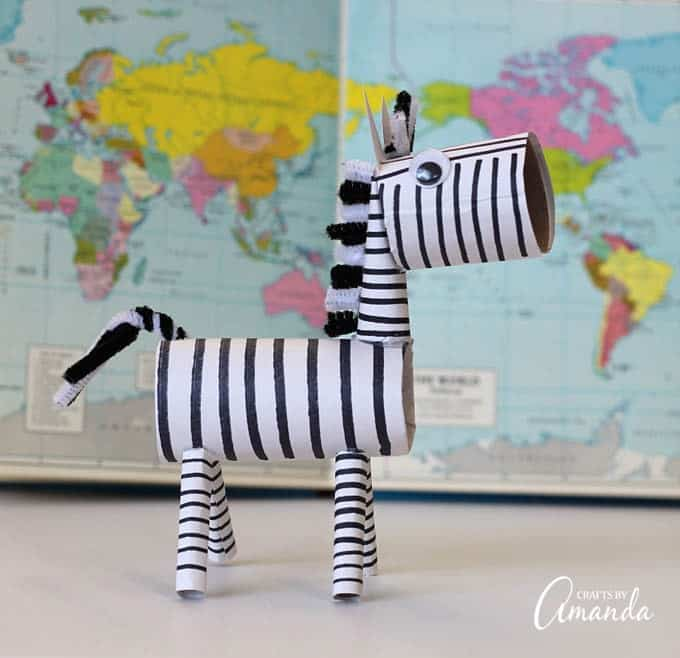 Adorable and fun, try this craft today!