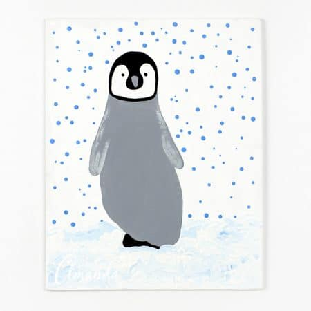 My youngest son adores penguins! He is fascinated by how they seem to fly through the water, swimming fast to evade predators while creating a tunnel of bubbles by which to propel themselves back up onto ice.