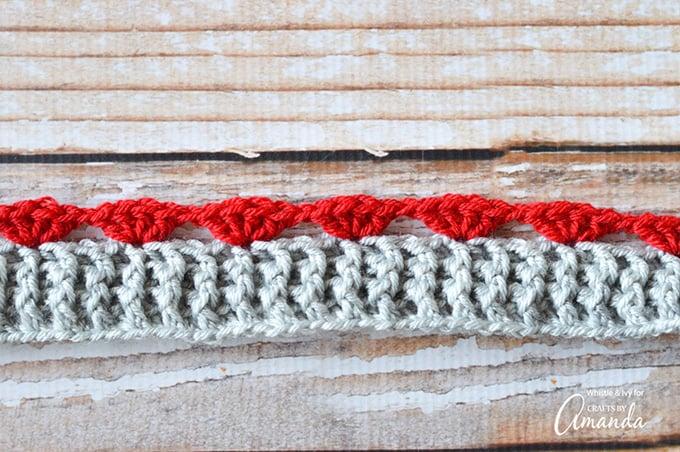 Infinity Scarf Crochet Pattern This Heart Motif Crochet Pattern Is
