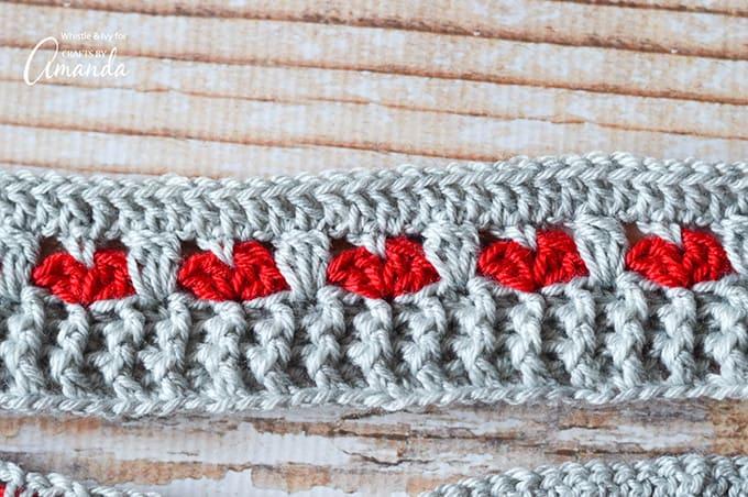 infinity scarf pattern step photo