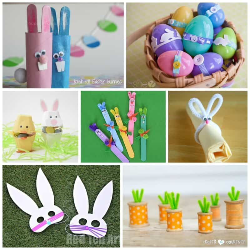 Recycle some cardboard tubes and make cute Easter crafts with them! There are so many wonderful ideas out there.