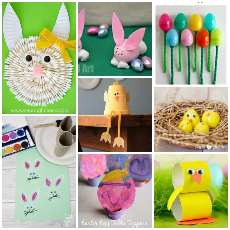 Easter is full of pretty pastels and cute chicks and bunny butts!