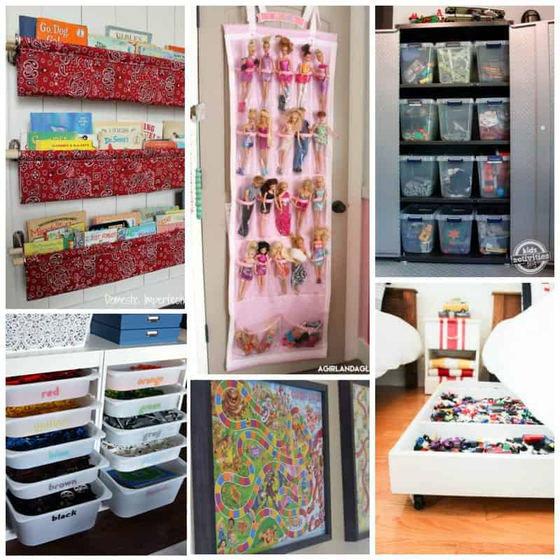 playroom organization ideas