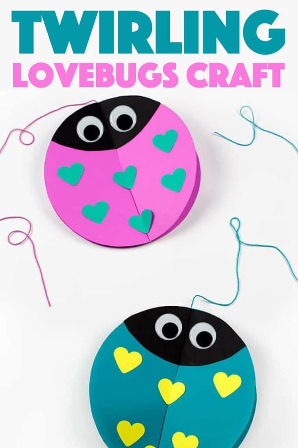 Twirling Lovebugs
