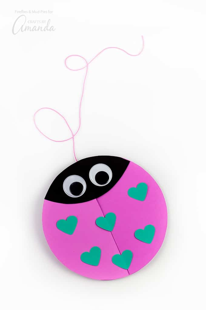 Make several more love bugs in a variety of colors!