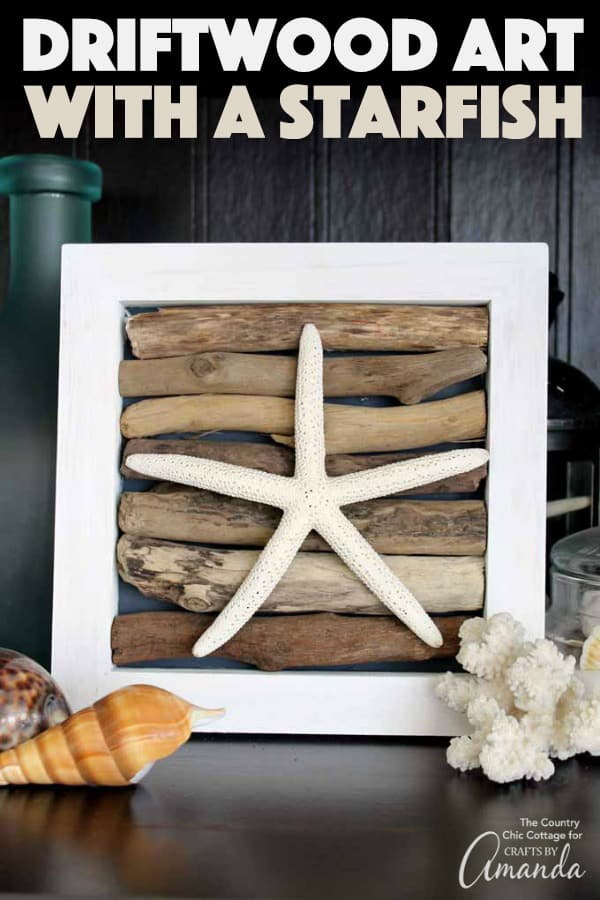 Driftwood Starfish Art