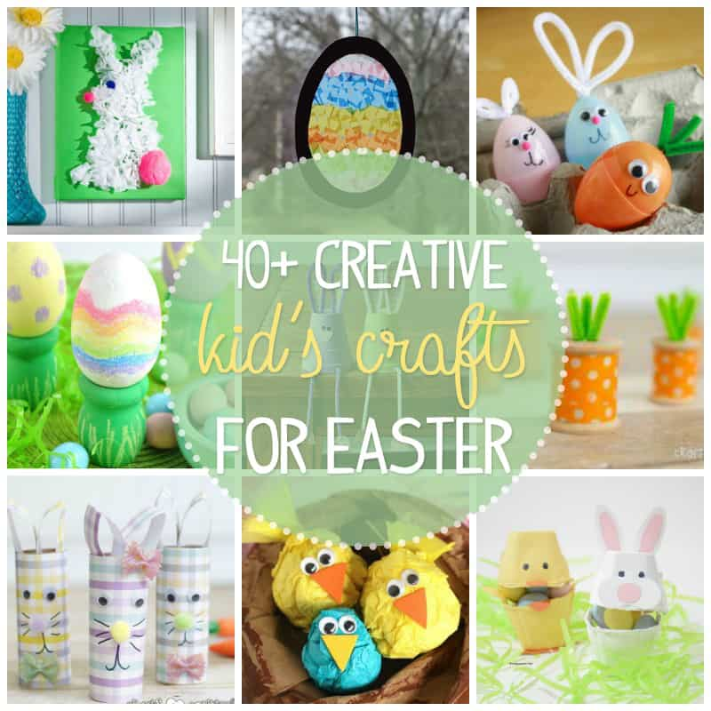 fun easter craft ideas easter crafts for 40 creative and craft ideas 4527