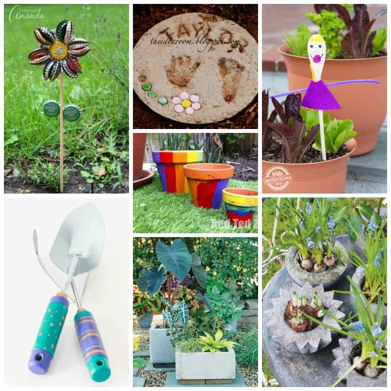Recycled DIY Garden Crafts and so much more!