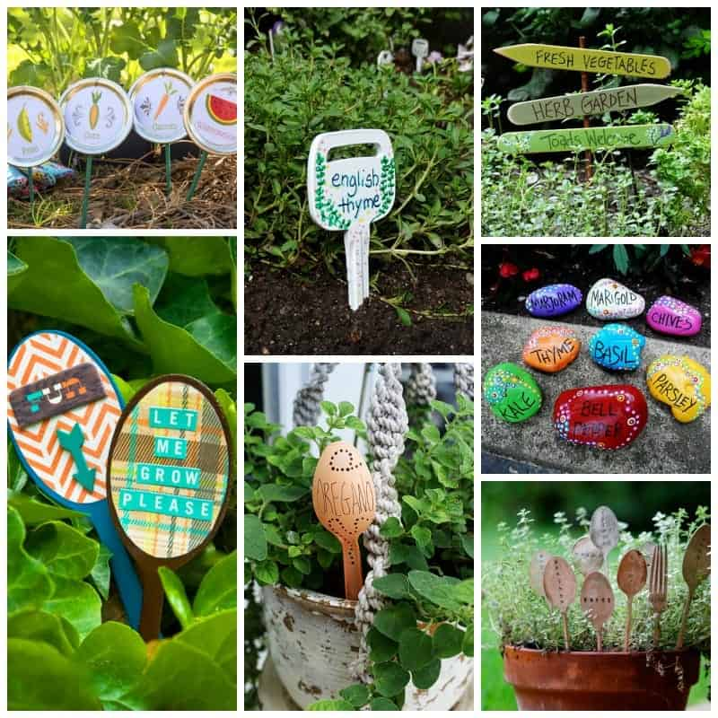 Adorable lawn marker DIY garden crafts