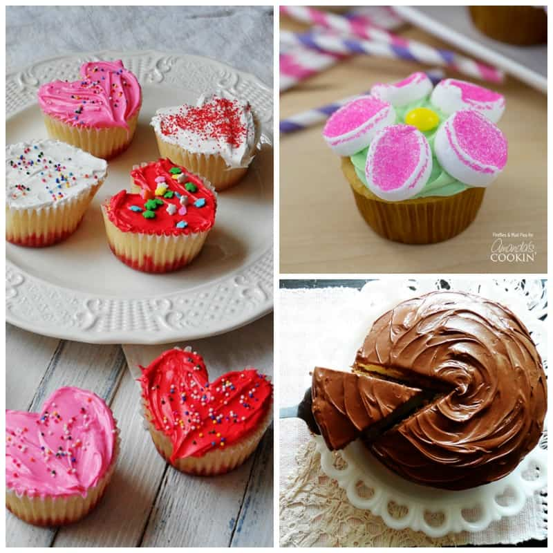 Delicious and sweet mother's day treat ideas!