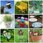 24+ DIY Garden Crafts