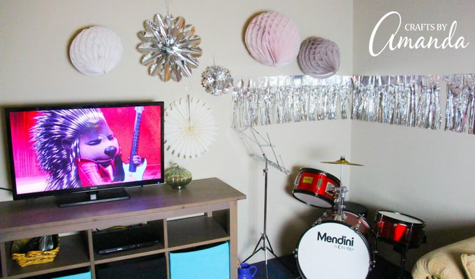 SING movie party with fun decorations!