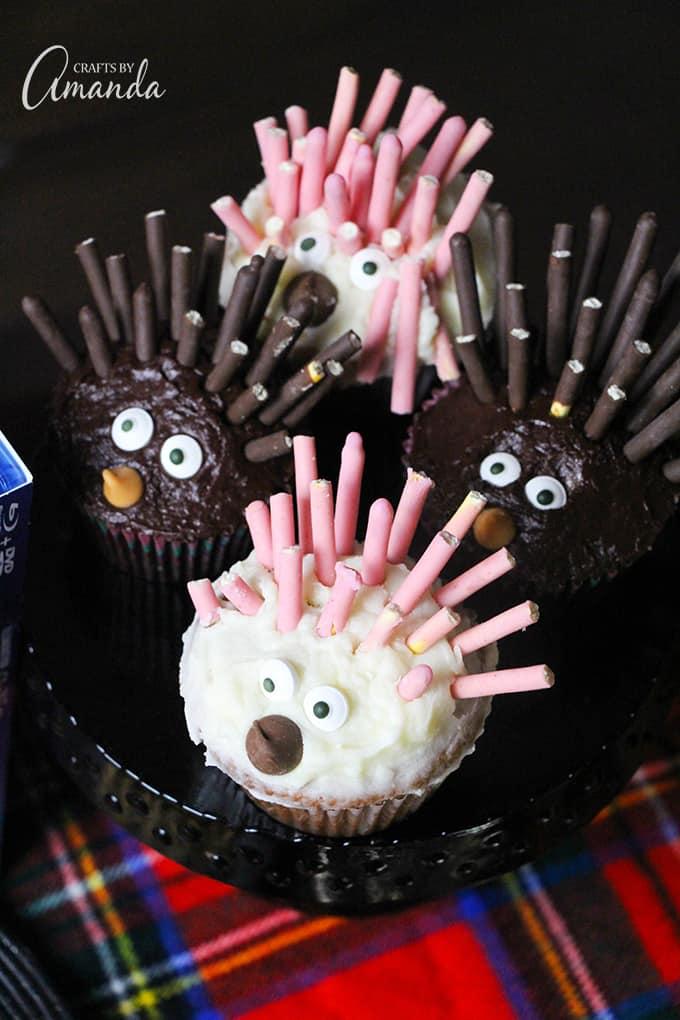 SING porcupine cupcakes!