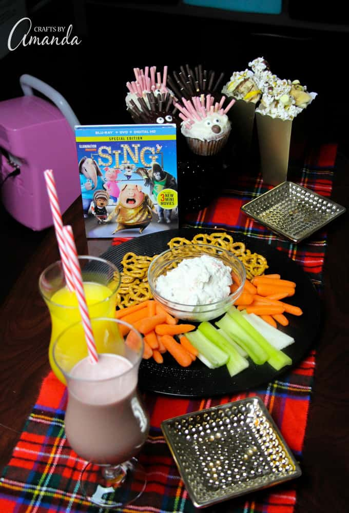 SING movie party and lots of goodies!