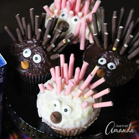 SING Special Edition is out on DVD and Blu-Ray so we made porcupine cupcakes, gorilla munch popcorn and several other goodies for family movie night!