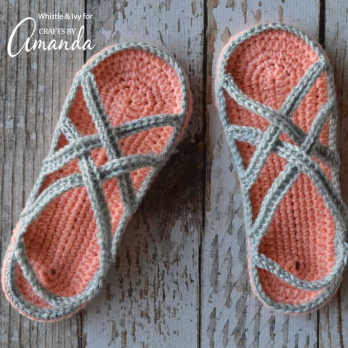 Crochet Sandals An Adorable Adult Craft Making Crochet