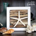 Driftwood Art with a Starfish