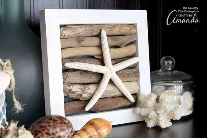 Your driftwood art is ready to be added to your home decor!