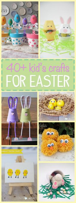These 40+ Easter crafts are not only creative but they're full of colorful smiles and adorable bunnies! Can it get any better than that? Let's get crafty!
