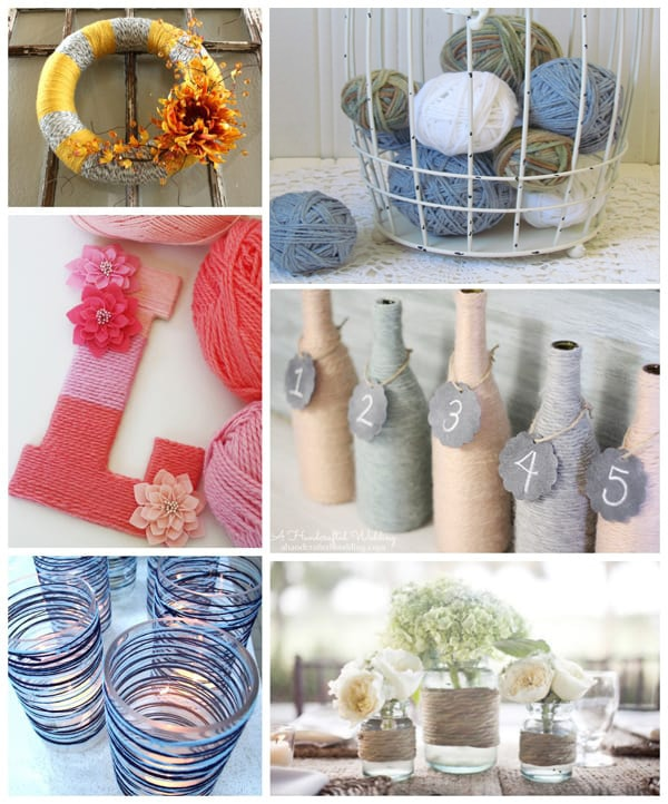 easy yarn crafts without knitting or crocheting
