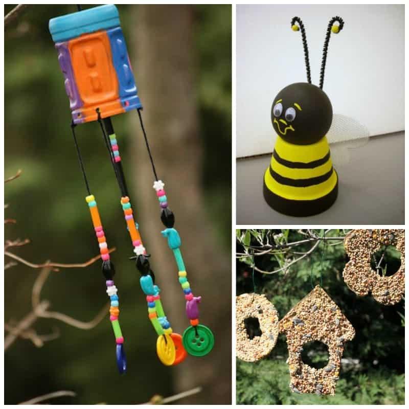 Playful Kid's Garden Crafts