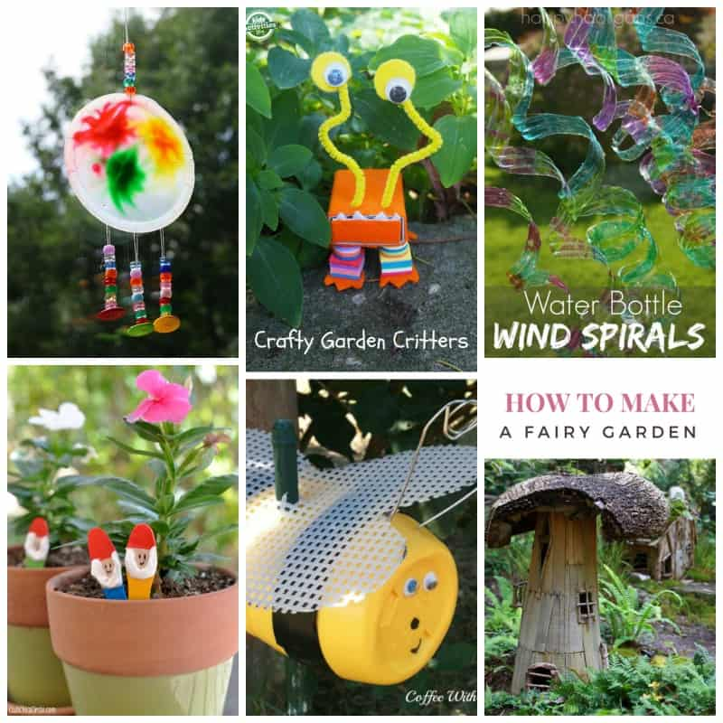 Kid's Garden Craft Roundup