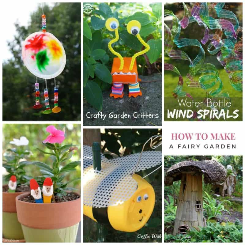 Kid's Garden Craft Roundup