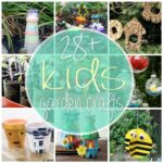 28+ Creative Kid's Garden Crafts