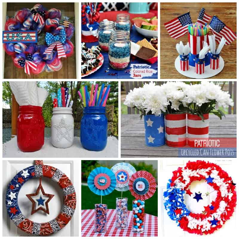 Memorial Day Party crafts