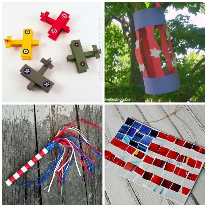 Kid's Memorial Day Crafts