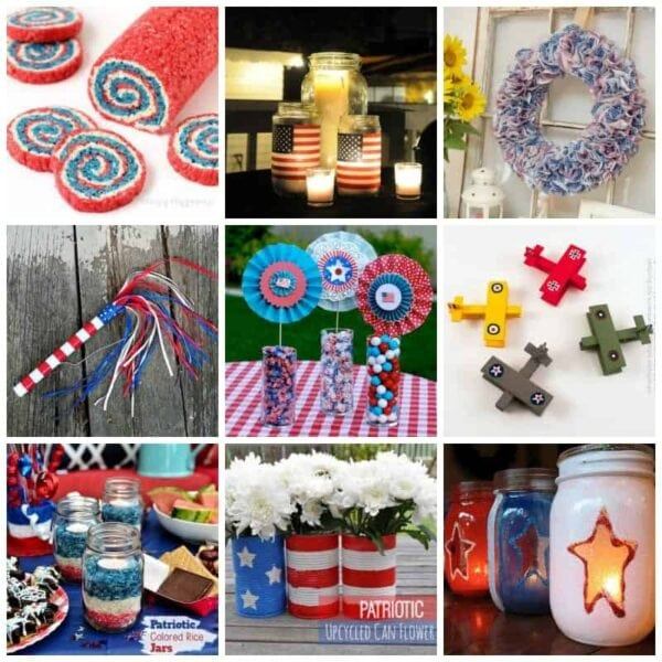 24 Memorial Day Crafts and Recipes