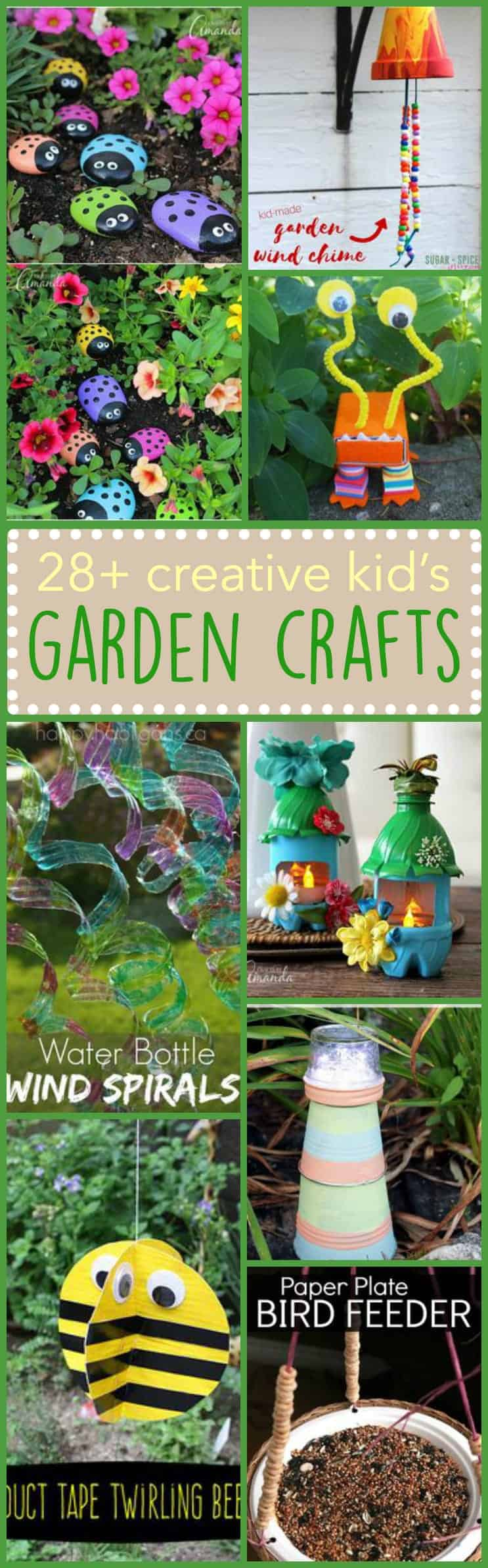 Kid 39 s garden crafts 28 creative ideas for the little ones for Garden project ideas
