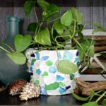 Make this sea glass planter for your home!