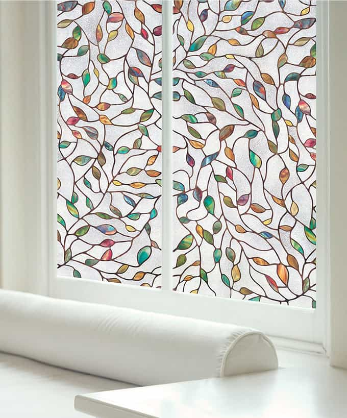 decorative sidelight and window coverings