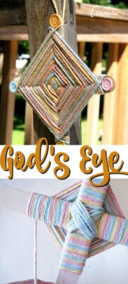 god's eye pin image