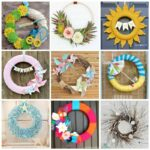 These 20+ DIY Summer Wreaths are the perfect adult craft to ring in the warmer weather. Create your own gorgeous staple piece to display on your front door!