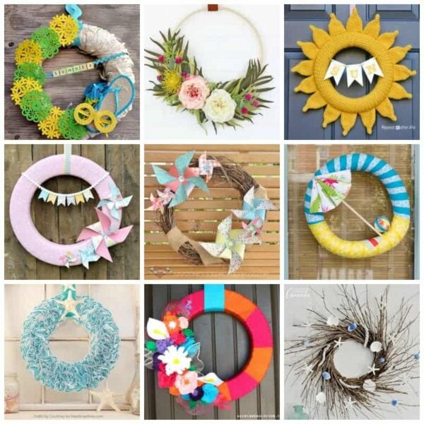 20+ DIY Summer Wreaths