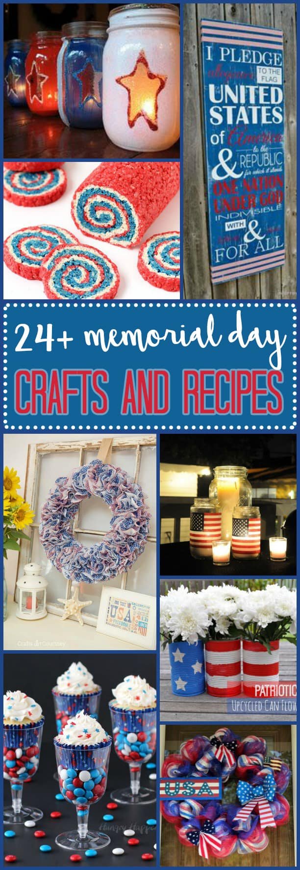 Memorial Day Crafts: remember those who've fallen in active duty and enlighten your children on the importance of this day by creating something of meaning.