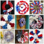 16+ DIY July 4th Wreaths