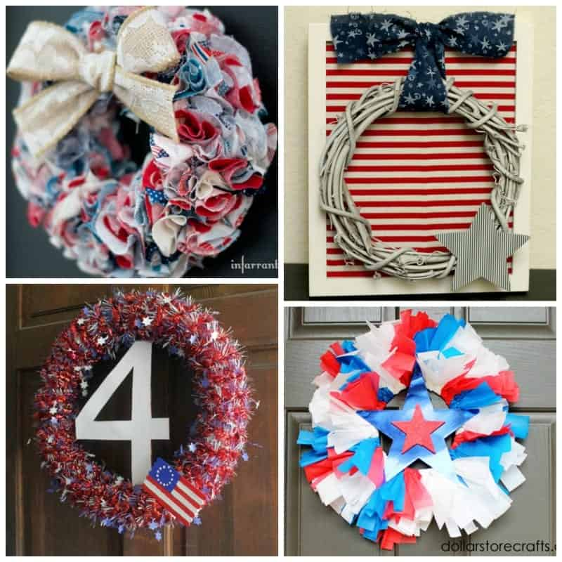 Creative July 4th Wreaths