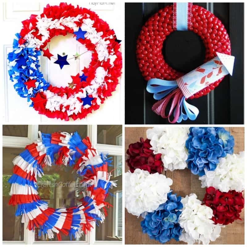 July 4th wreaths