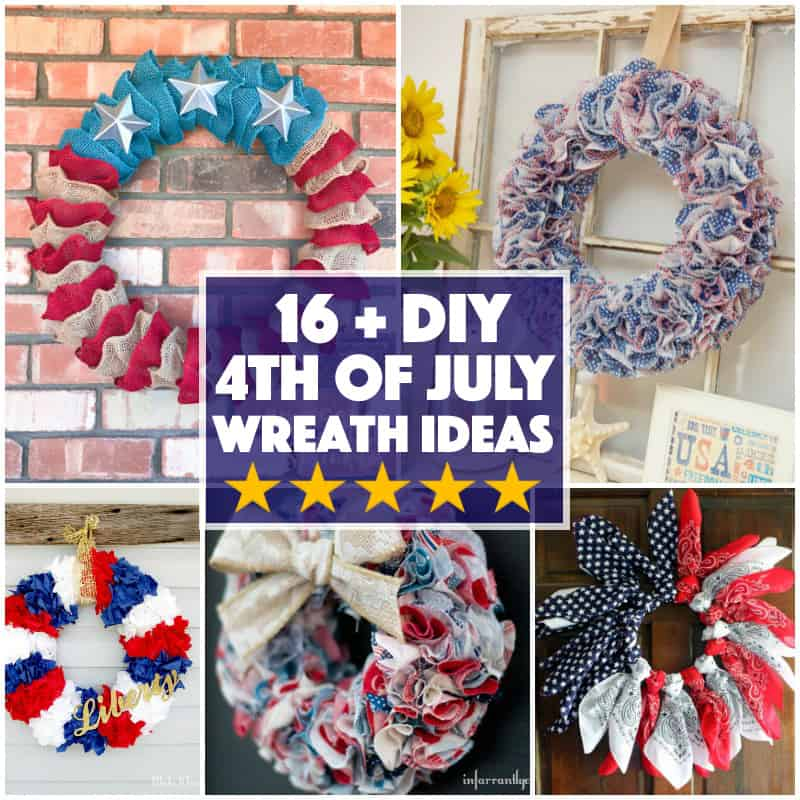 DIY Fourth of July Wreath Ideas