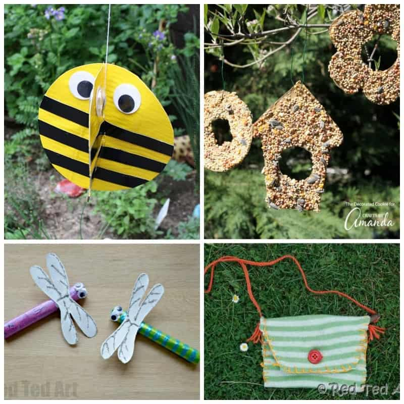 Adorable and easy summer camp crafts for kids!