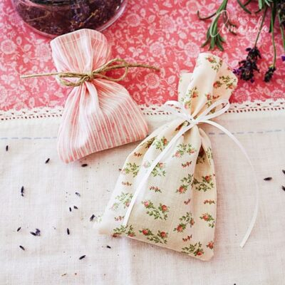 How to make herbal sachets