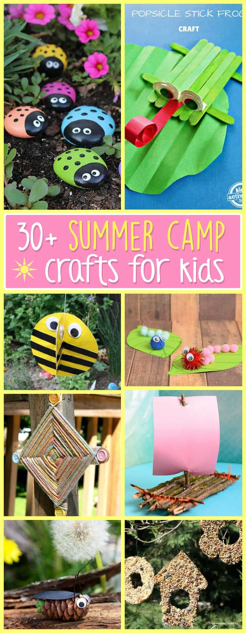 Summer Camp Crafts Nurture Their Creative Minds With These Fun Ideas While Having In