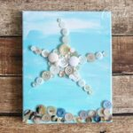 Button Starfish Wall Art